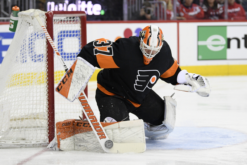 Brian Elliott, Flyers Agree to 1-Year, $2 Million Contract Extension