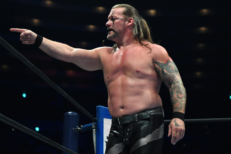 Chris Jericho Announced for AEW Fight for the Fallen Match Card in July