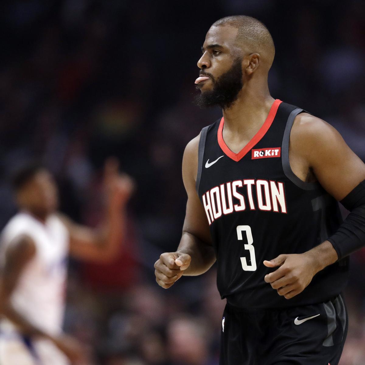Houston Rockets News Trade: Latest Rumors On Chris Paul's Status With Rockets And