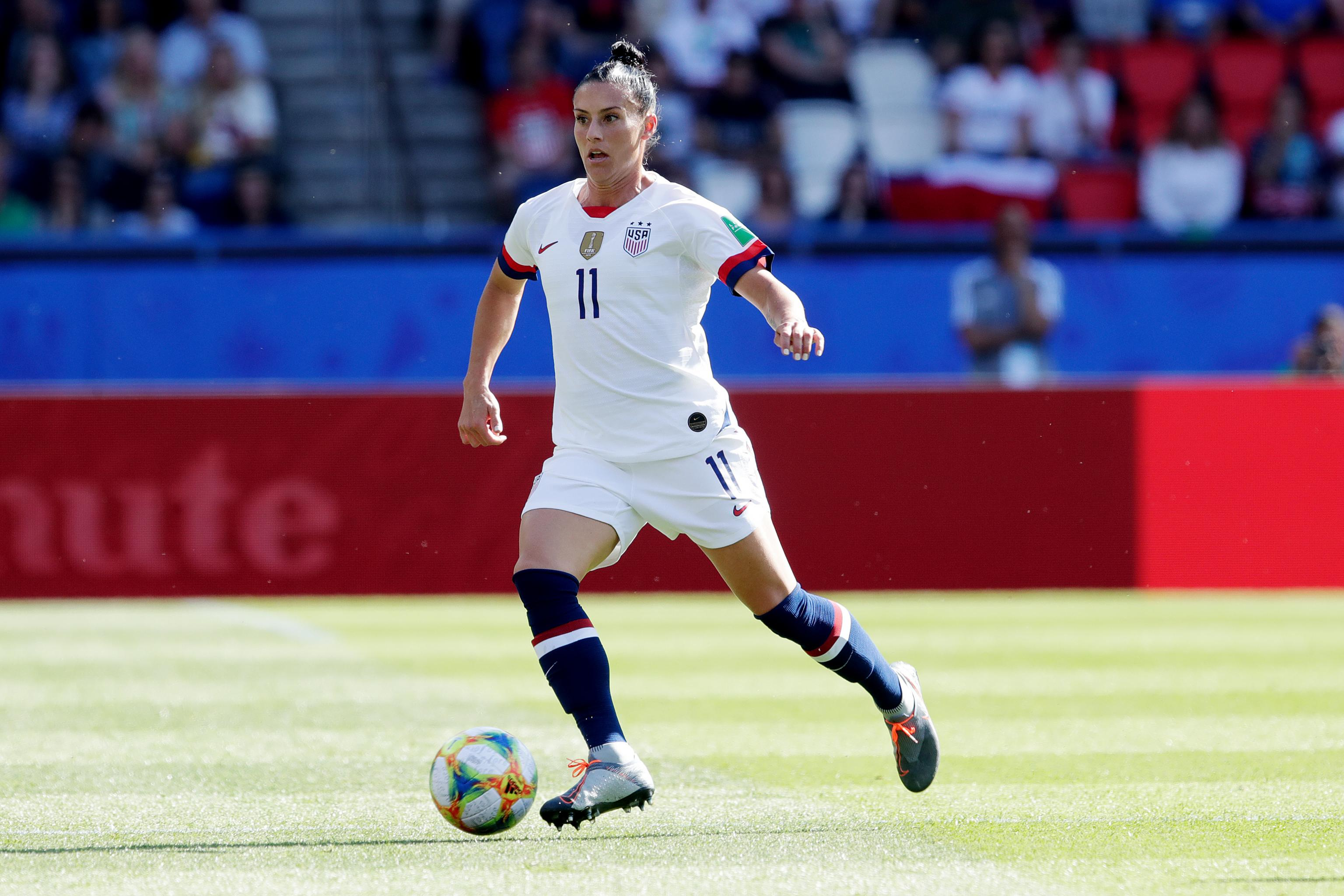 USWNT's Ali Krieger: Trump Is Angered by Women He 'Cannot
