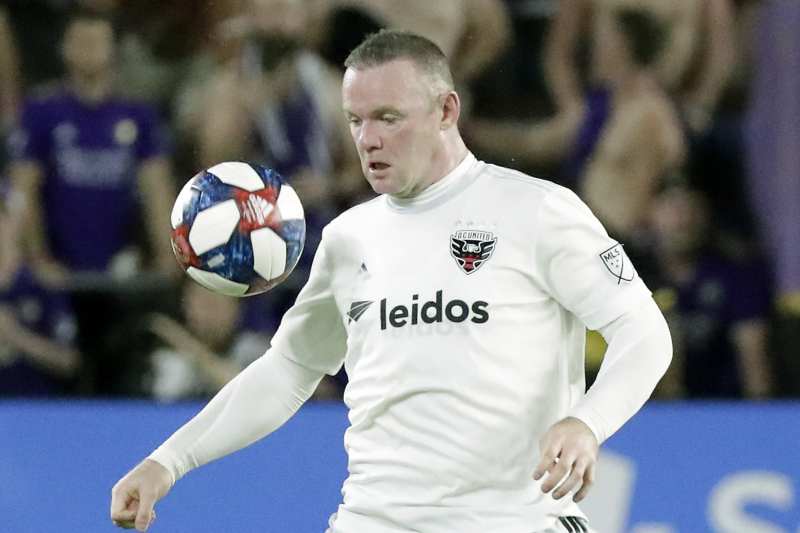 Video: D.C. United's Wayne Rooney Scores Stunning Goal from Beyond Midfield