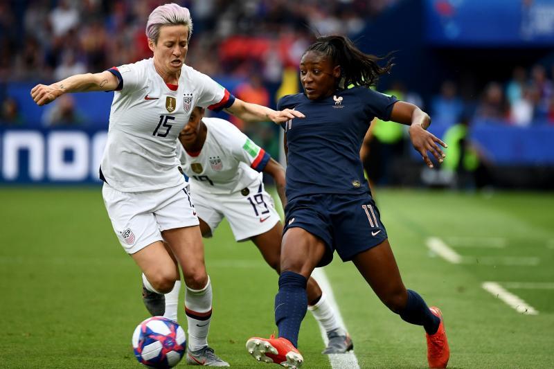 Megan Rapinoe, USA Beat France, Advance to 2019 Women's World Cup