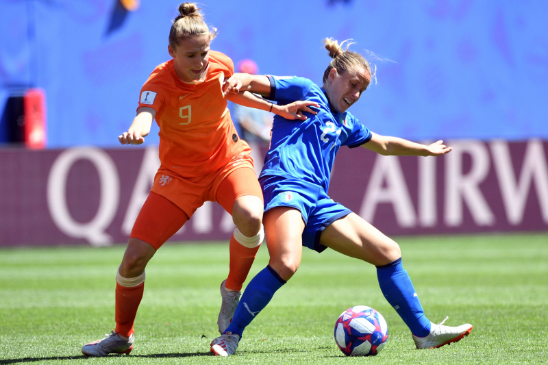 Netherlands Beat Italy to Advance to 2019 Women's World Cup Semi-Finals