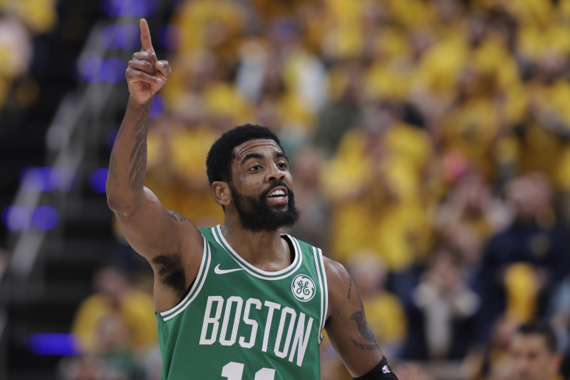 Report: Kyrie Irving to Sign 4-Year, $141M Contract with Nets, Join Kevin Durant