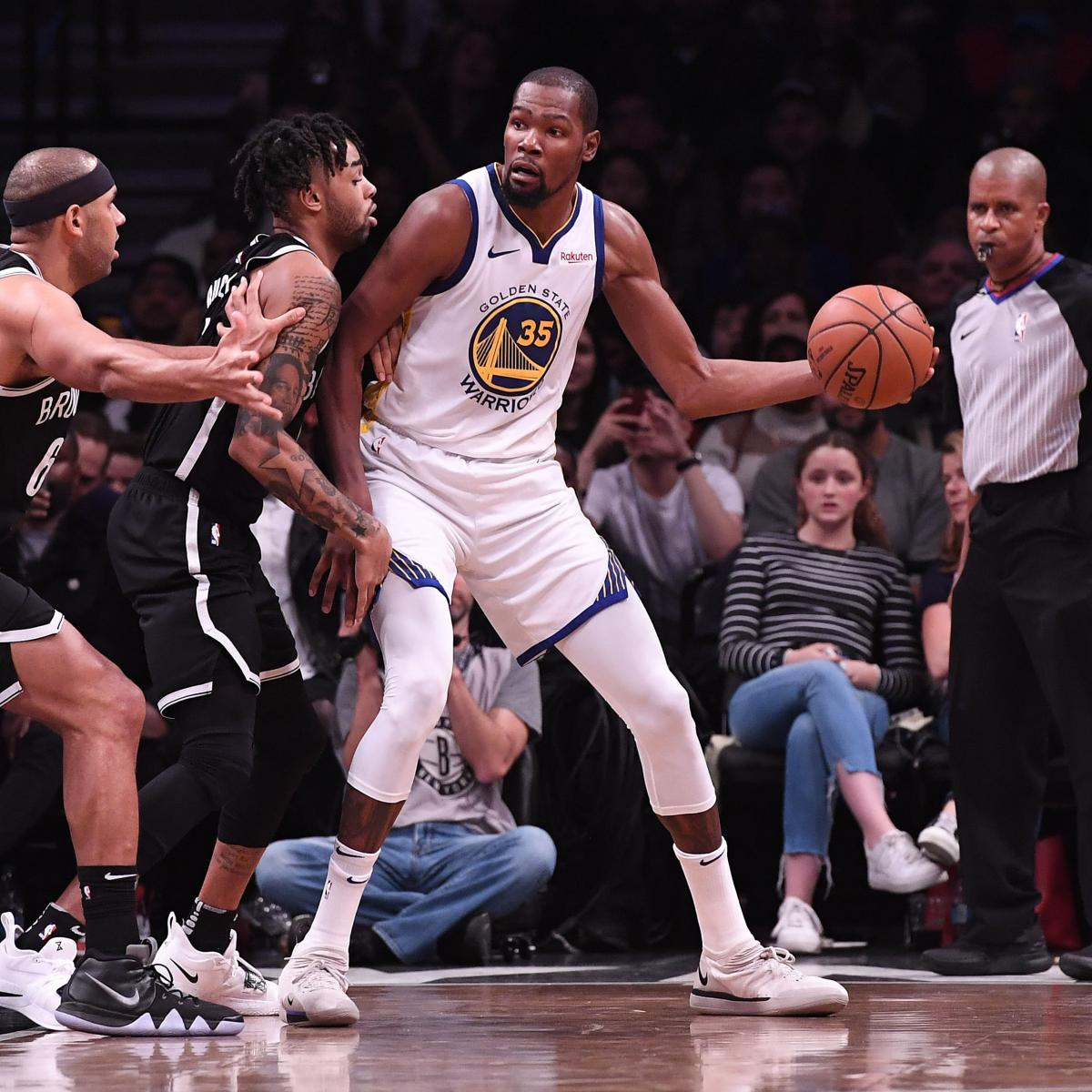 Warriors Come Out To Play Bleacher Report: Warriors Rumors: Kevin Durant Sign-and-Trade Possible, D