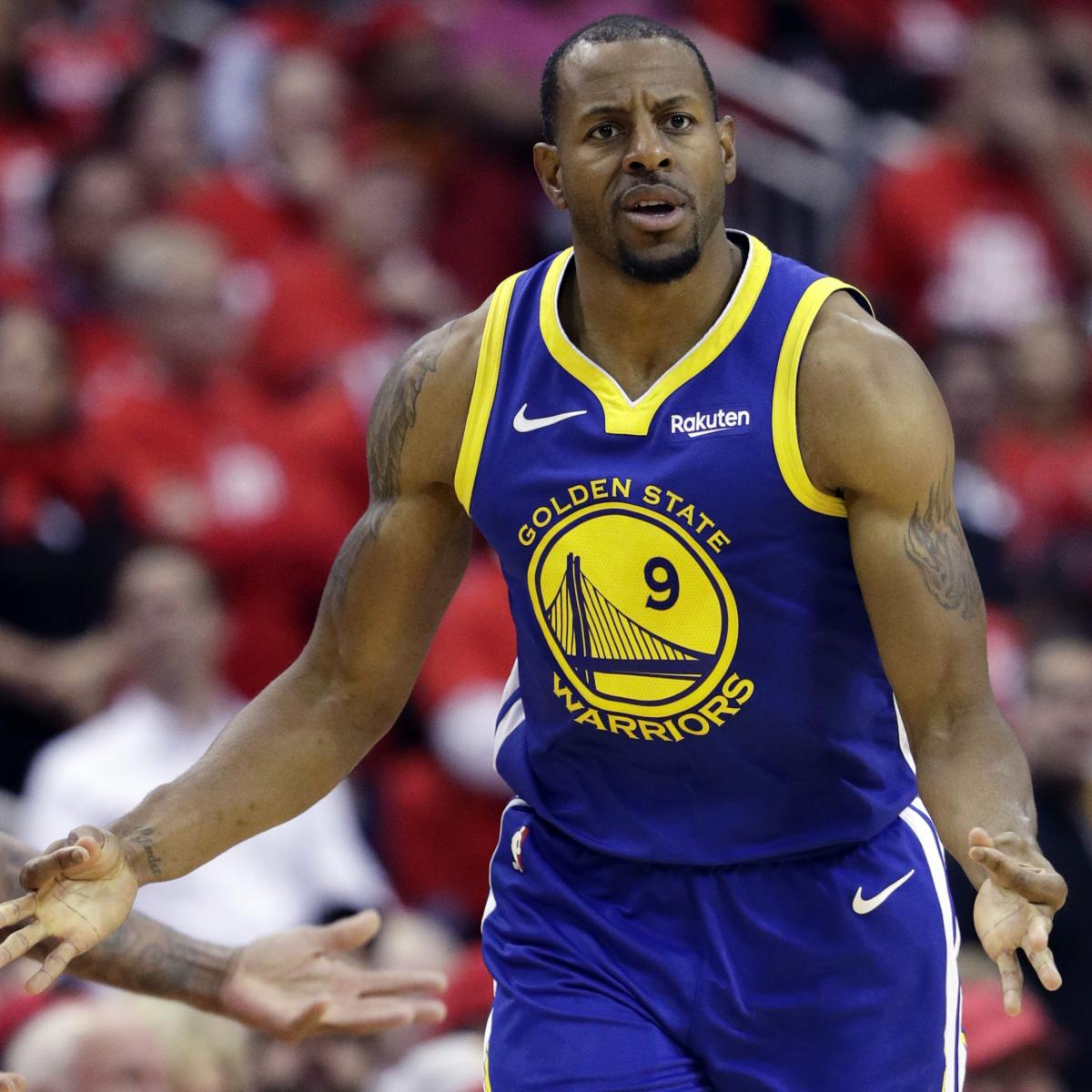 Warriors Come Out To Play Bleacher Report: Andre Iguodala Rumors: Rockets Interested If Grizzlies Buy