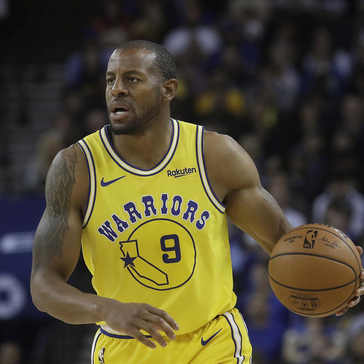 Andre Iguodala Reportedly Traded to Heat; Grizzlies Receive Justise Winslow