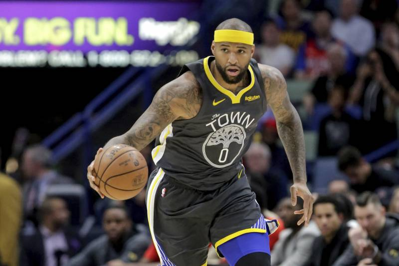 outlet store cdfe7 2f798 Lakers Rumors: DeMarcus Cousins an Option If Kawhi Leonard ...