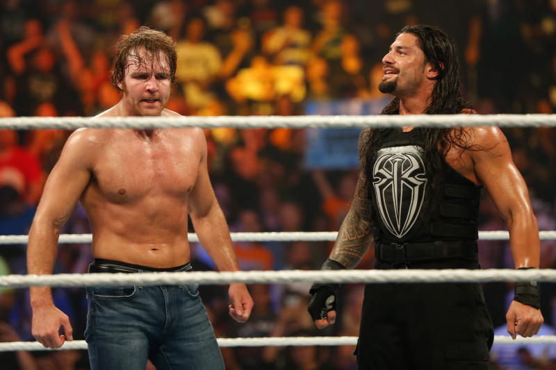 Roman Reigns on AEW's Jon Moxley After WWE Exit: 'I'm Always Cheering for Him'