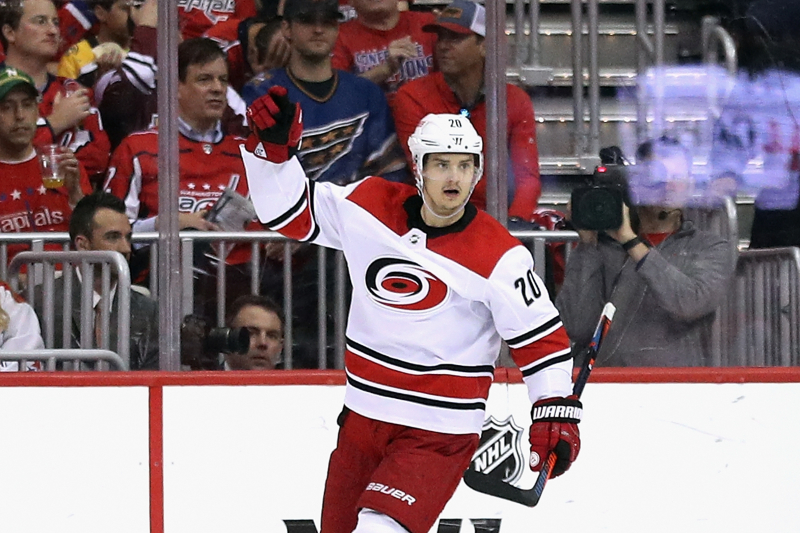 Hurricanes Re-Sign Sebastian Aho, Match Canadiens' 5-Year, $42.3M Offer Sheet
