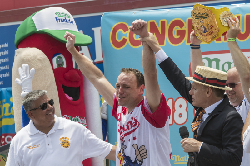 Nathan's Hot Dog Eating Contest 2019: Men, Women's All-Time Results and Records