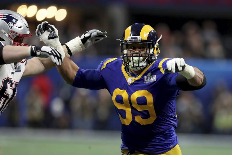 new style 9c2b6 02da8 Madden NFL 20 Player Ratings: Rams' Aaron Donald Joins 99 ...