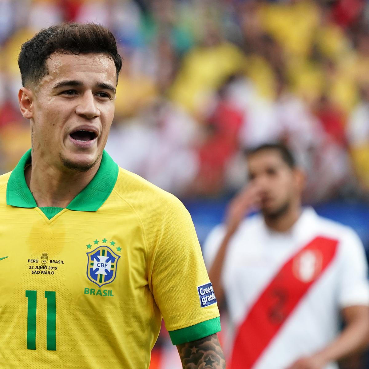 Copa America Final 2019 Latest Form Guide And Reaction Before Brazil Vs Peru Bleacher Report Latest News Videos And Highlights