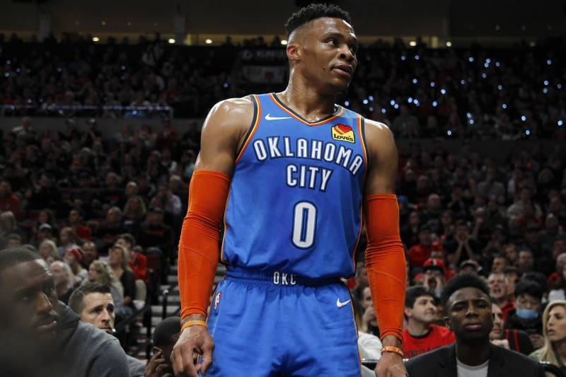 cheap for discount c46e8 1c153 Russell Westbrook Rumors: Thunder to Talk Possible Trade ...