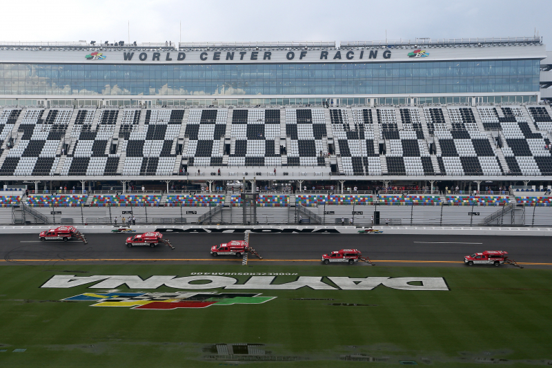 NASCAR at Daytona Postponed Until Sunday Due to Inclement Weather