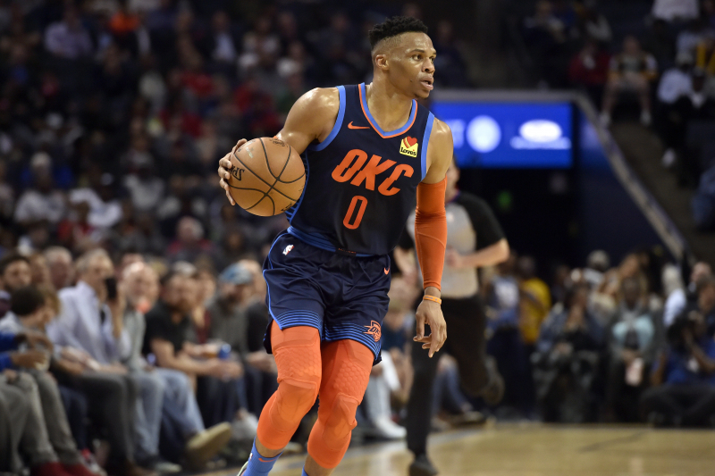 Russell Westbrook Traded to Rockets from Thunder for Chris Paul, Picks