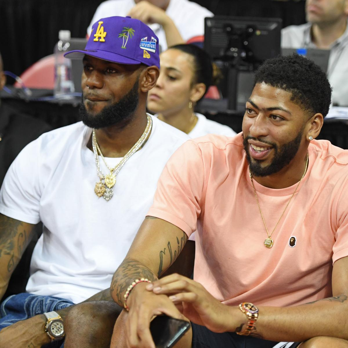 Lakers News: Anthony Davis Trade Officially Completed, Joins LeBron James in LA