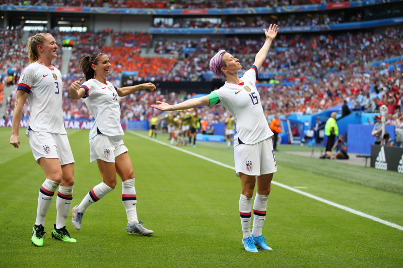 Megan Rapinoe, USA Beat Netherlands to Repeat as Women's World Cup Champions