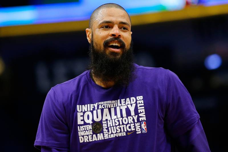 pretty nice e0fbc bced5 Rockets Rumors: Ex-Lakers Center Tyson Chandler a 'Likely ...