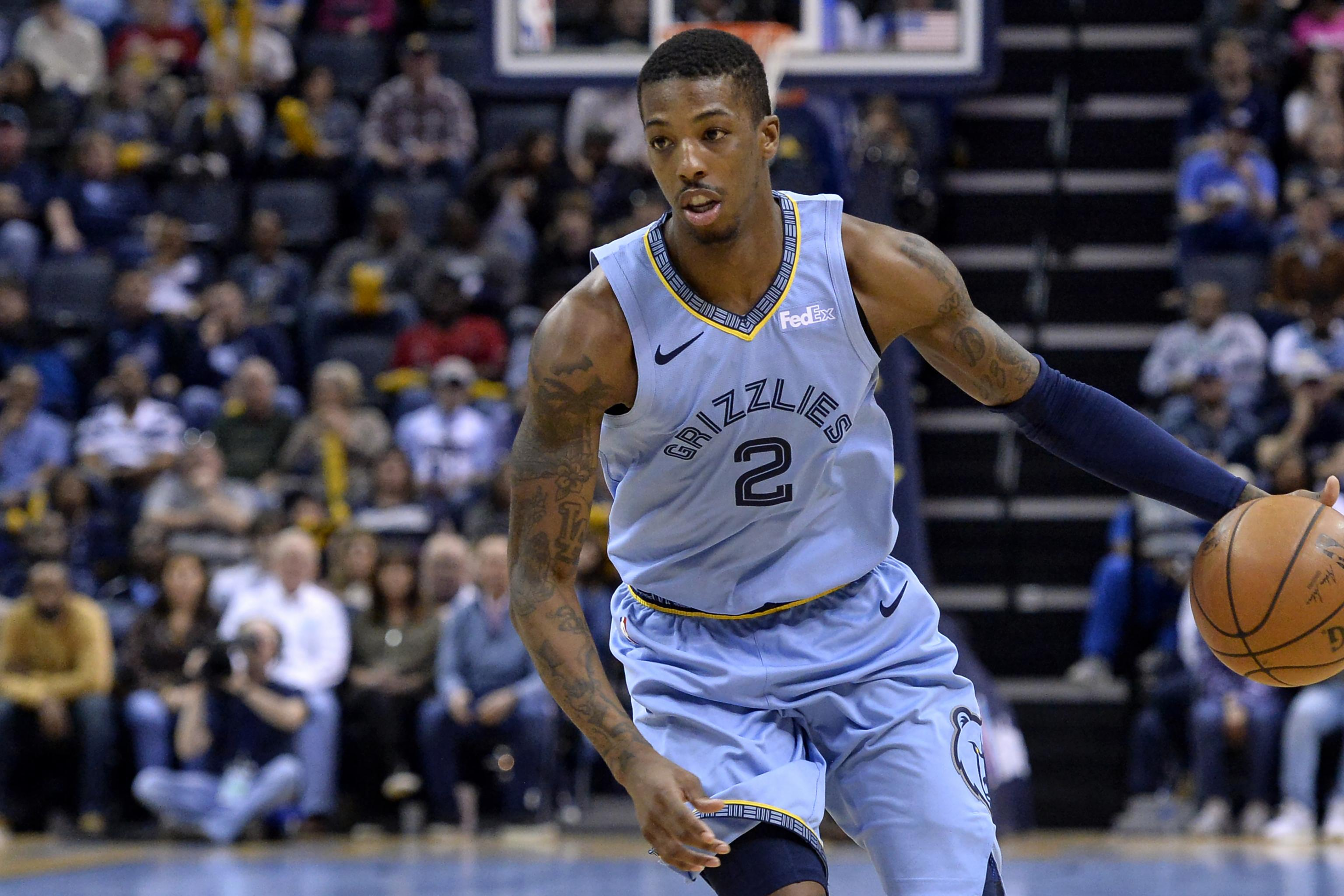 big sale 71d5f 8d40e Report: Delon Wright Traded to Mavericks from Grizzlies for ...