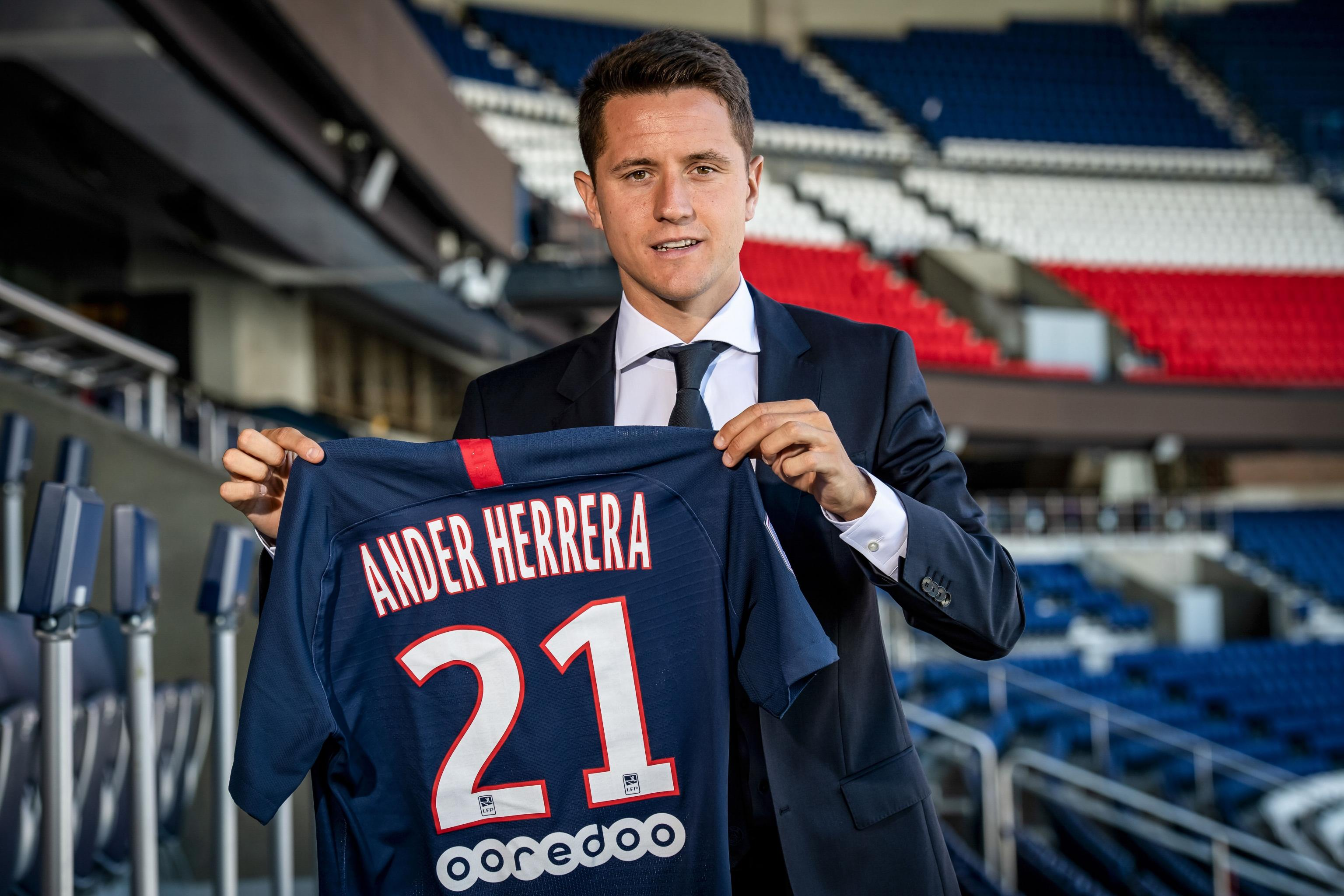 Ander Herrera Talks PSG Transfer, Says Manchester United Offer 'Arrived  Late' | Bleacher Report | Latest News, Videos and Highlights