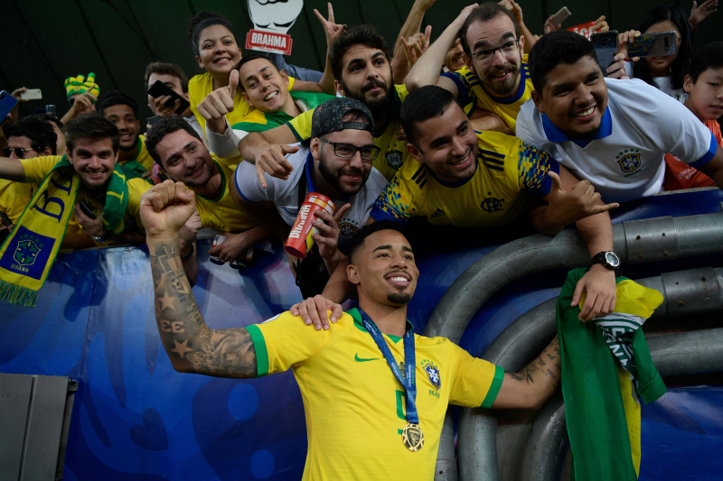 Gabriel Jesus' Brazil Success Fuels Hunger to Become a Star at Manchester City