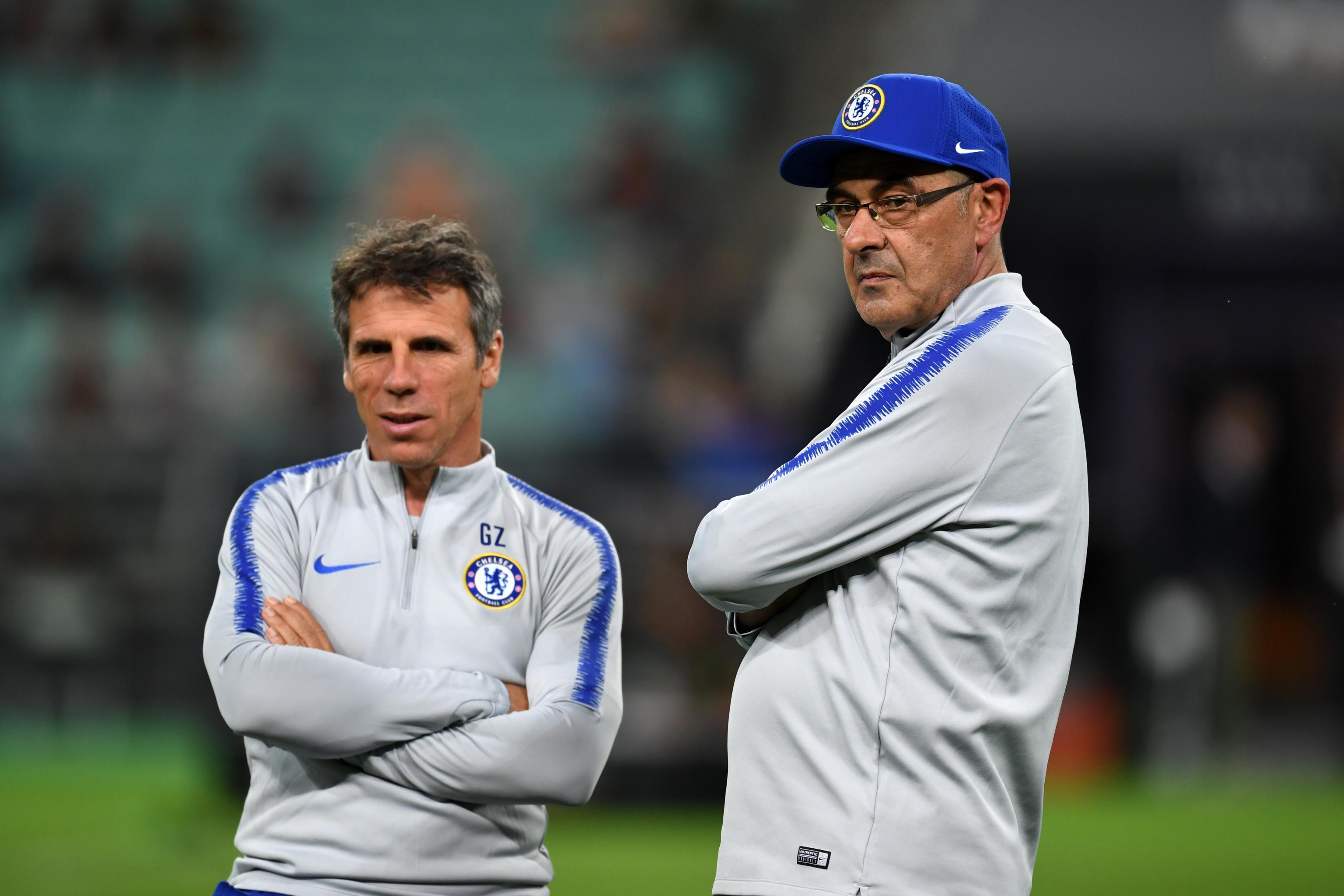 Gianfranco Zola Says Maurizio Sarri Left Chelsea for Juventus Too ...