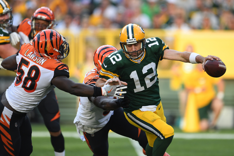 Bengals' Carl Lawson: 'It's Easier to Sack Aaron Rodgers Than Most Quarterbacks'
