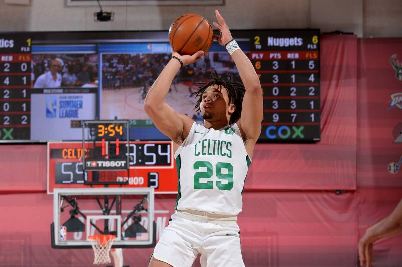 Carsen Edwards Celtics Beat Nuggets In Summer League Tacko Fall