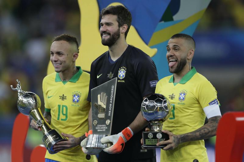 Dani Alves Headlines Copa America Best XI; Gabriel Jesus, Lionel Messi Miss out