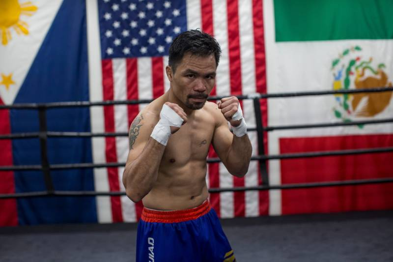 Image result for manny pacquiao fight