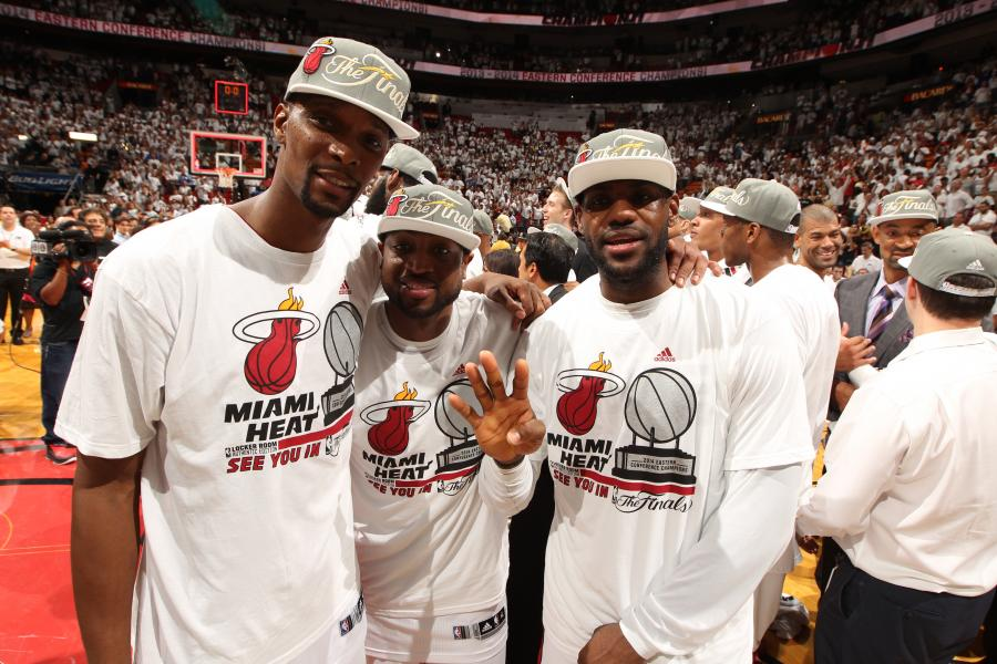 9 Years Ago, LeBron and Bosh Joined Wade in Miami and The Heatles Were Born