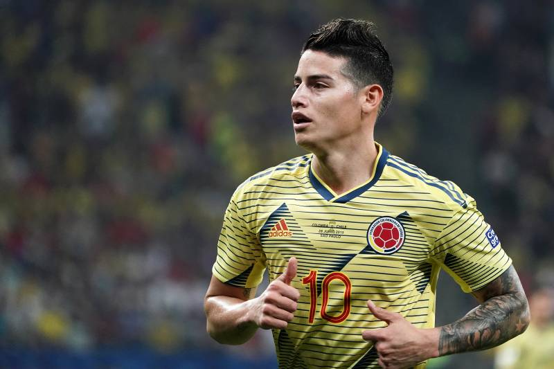 brand new 6c1b5 164b1 Real Madrid Have 'Exaggerated Expectations' in James ...