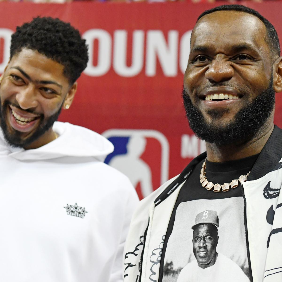 Anthony Davis Rumors: Rich Paul Pushed for Knicks Trade as Well as Lakers Deal