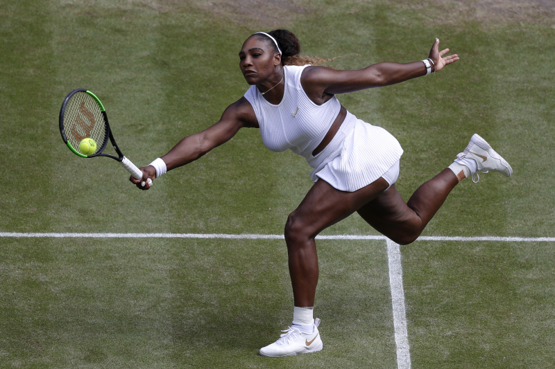 Serena Williams Cruises Past Barbora Strycova, Advances to 2019 Wimbledon Final