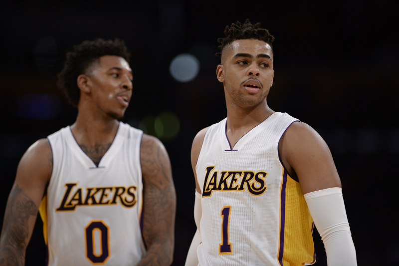 Nick Young: 'No Coming Back From' D'Angelo Russell Beef from Lakers Tenure