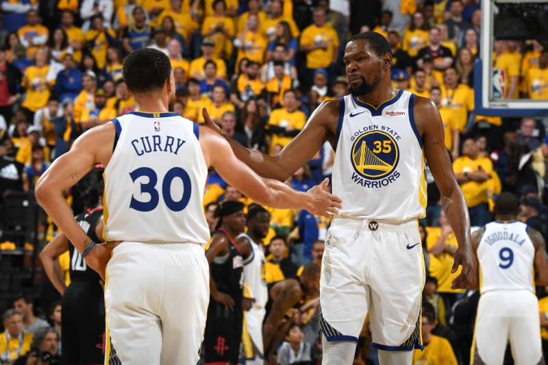 promo code e081c c8f4d Stephen Curry Talks Kevin Durant's Warriors Tenure for 1st ...