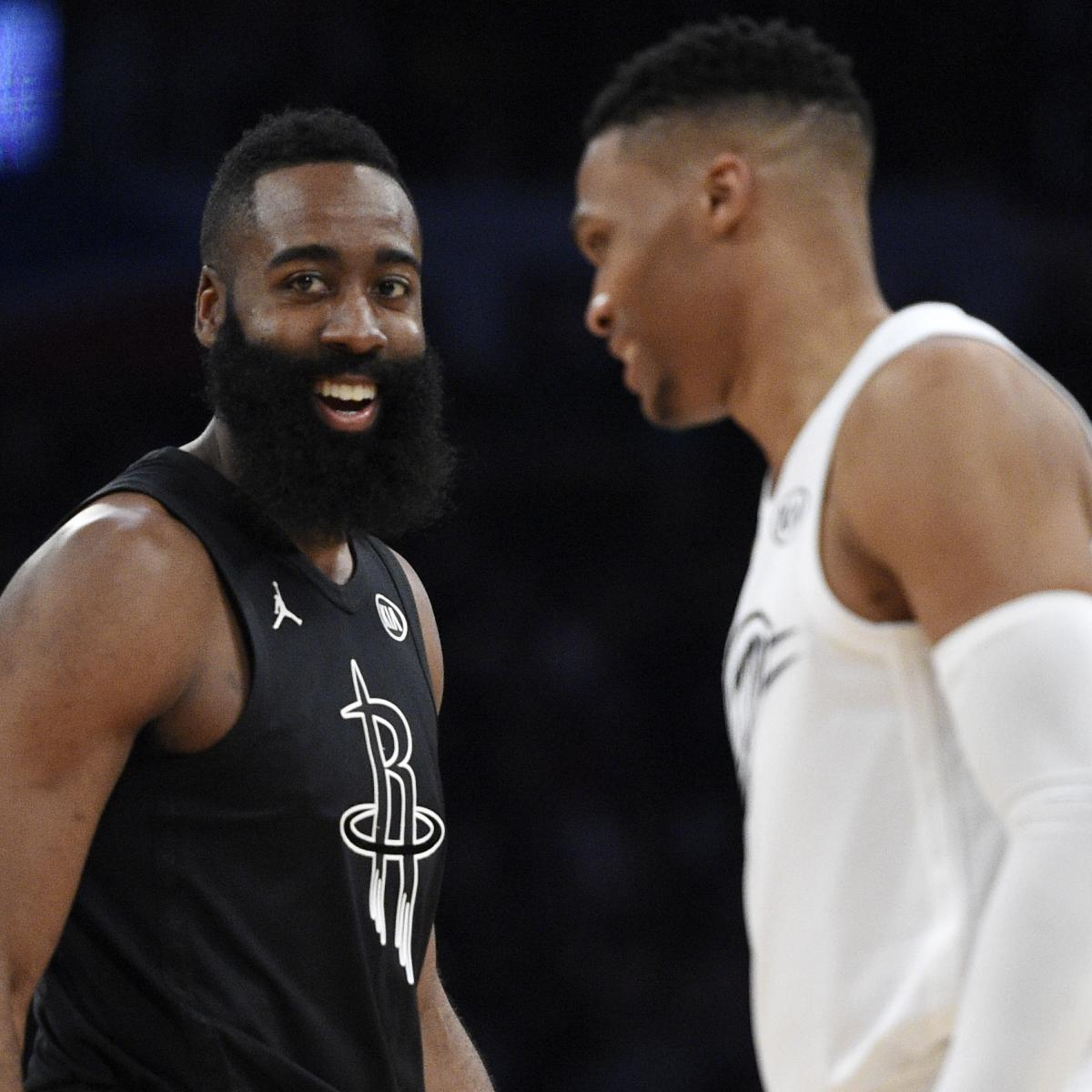 James Harden Rockets: James Harden Guarantees Russell Westbrook, Rockets Will Be