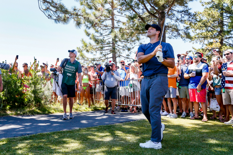 Tony Romo Leads American Century Championship After Round 1; Steph Curry 12th
