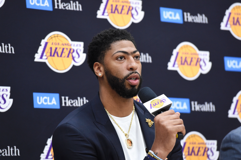 Anthony Davis Says He Wanted to 'Take Control' of His Career Before Lakers Trade