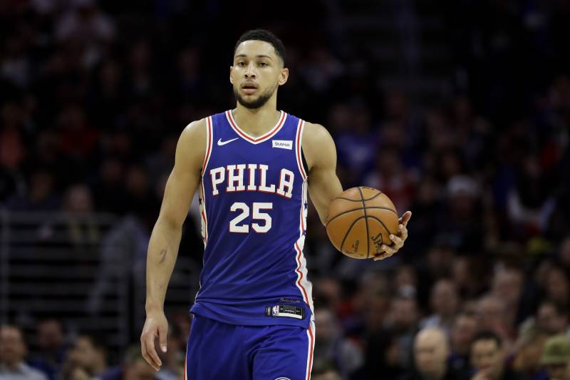 buy online c255a f61f4 76ers' Ben Simmons Unlikely to Participate in 2019 FIBA ...