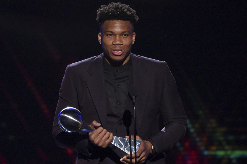 Giannis Thinks He's at 60% of His Potential Despite Winning 2019 NBA MVP Award