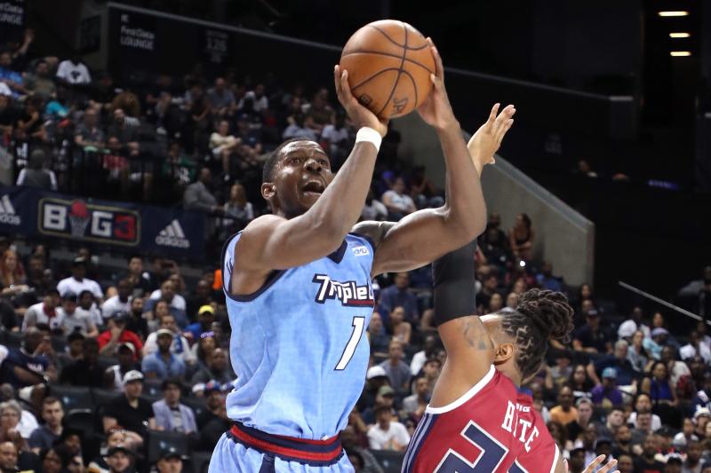 BIG3 League Basketball 2019 Results: Joe Johnson Dominates Again as Triplets Win