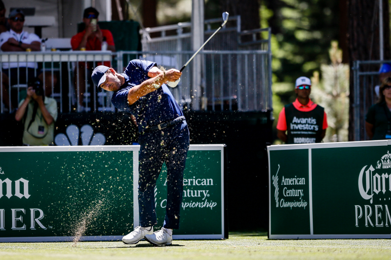 Tony Romo Wins 2019 American Century Championship; Stephen Curry Finishes 7th