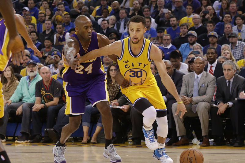Video: Stephen Curry Breaks Down Drilling a 3-Pointer in Kobe Bryant's Face