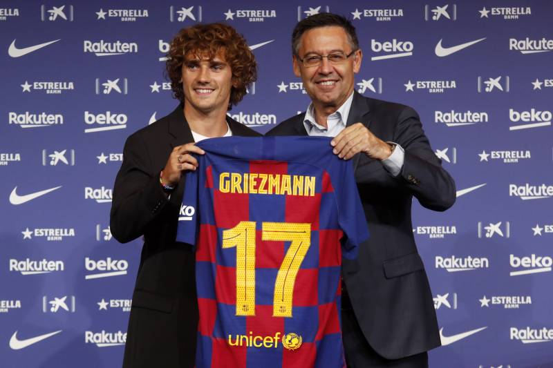 Image result for bartomeu griezmann