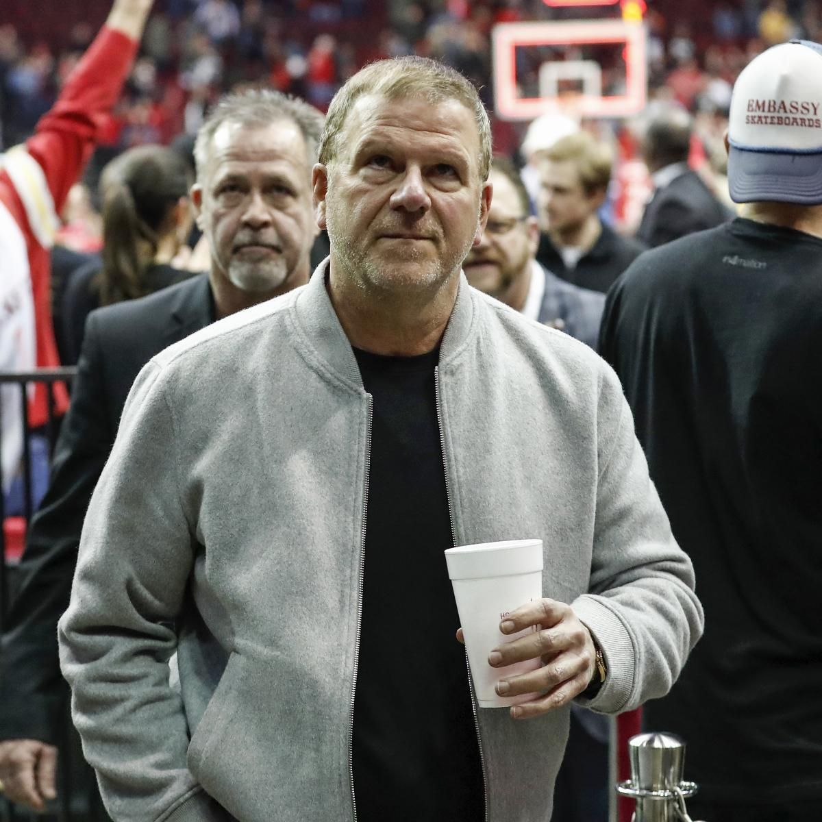 The NBA fined Houston Rockets owner Tilman Fertitta for comments he made regarding Russell Westbrook prior to the Rockets finalizing their trade to acquire the eight-time All-Star, according to the New York Times ' Marc Stein ...