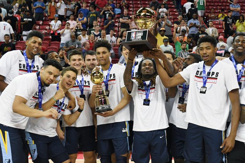 Brandon Clarke, Grizzlies Beat Timberwolves to Win 2019 NBA Summer League Title