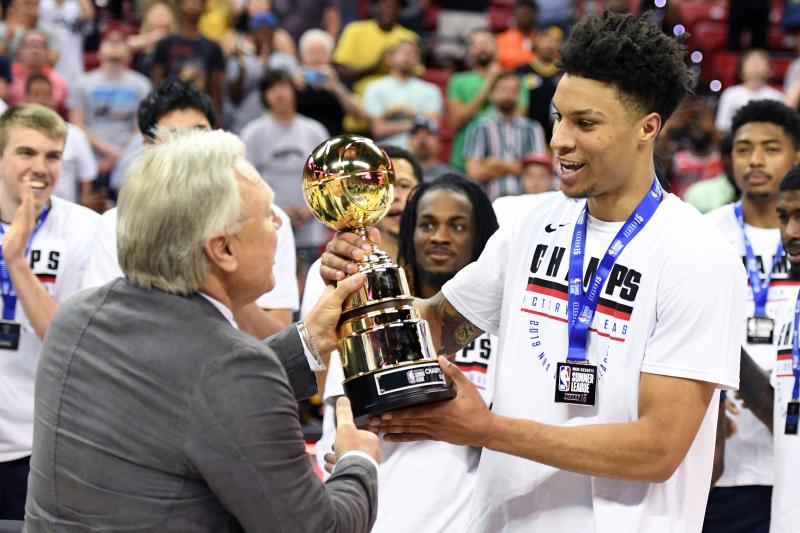 Brandon Clarke Wins MVP for 2019 Las Vegas NBA Summer League Championship