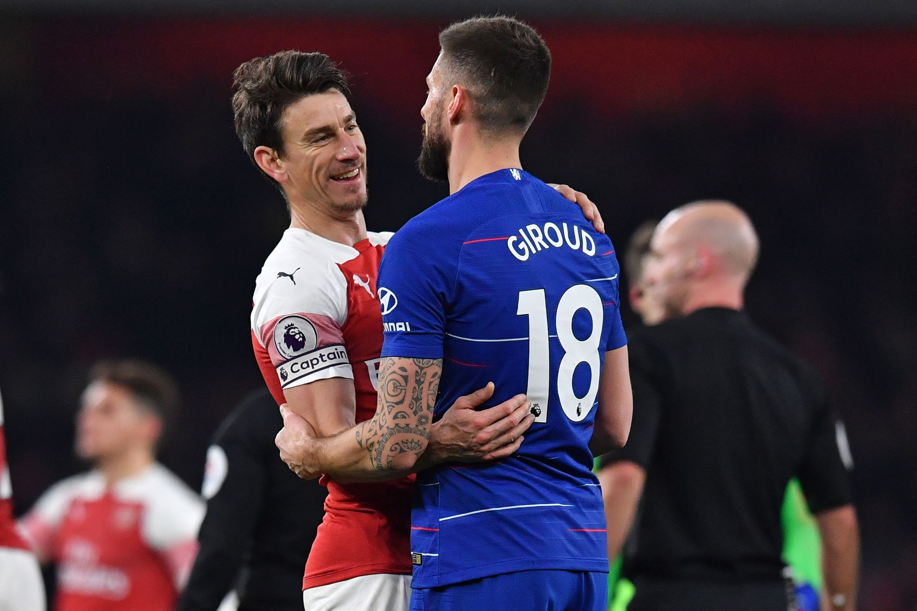 reputable site f2af1 1fdf2 Olivier Giroud Says Laurent Koscielny Is 'Very Hurt' by ...